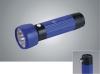 High Power Blue LED Rechargeable Flashlight