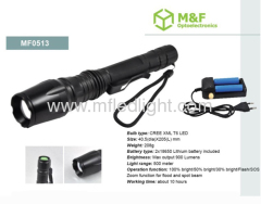 rechargeable t6 led flashlight