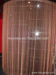 metal bead curtain for interior design