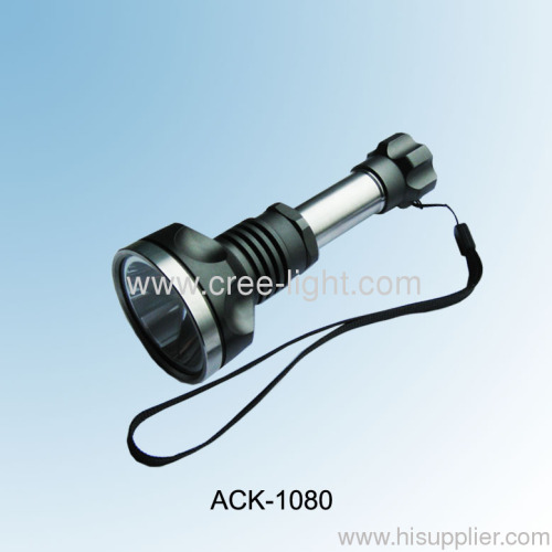 Rechargeable 10w High Power CREE XML T6 LED Torch