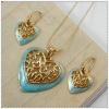 Heart Shape Deisgn Women Jewelry Set 1140082