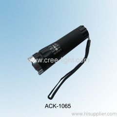 Classic Rotary Dimming Zoomable Focus CREE Torch ACK-1065