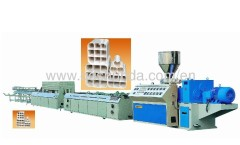 Max output 120kg/h PVC multi-hole pipe extrusion line ---plastic machine