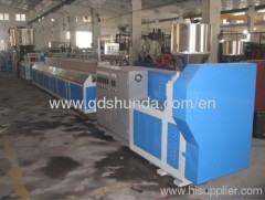 High speed PP-R RANDOM CO-Polypropylene pipe extrusion line plastic machine