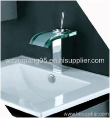 glass waterfall tap