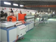HDPE Plastic pipe extruding machine
