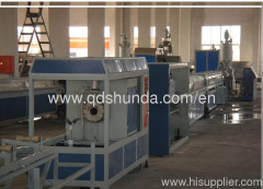 High speed PPR pipe making machine