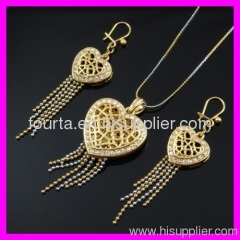 bridal gold plated jewelry