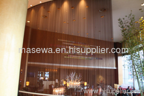 curtain divider decortaive wire mesh