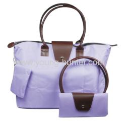 Folding shopping bags