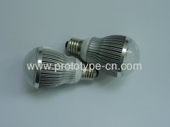 LED bulb shell design