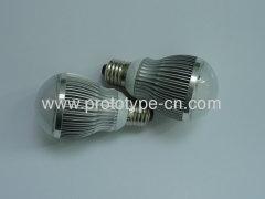 LED bulb shell design