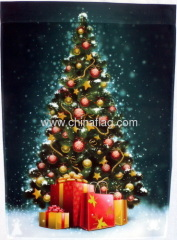Christmas garden flag Manufacturer supplier