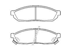 brake pads sets HONDA