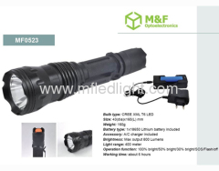 multifunctional high power cree led flashlight