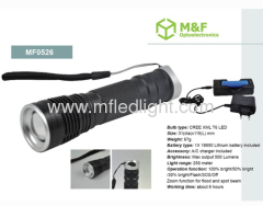 small size xml t6 led torch