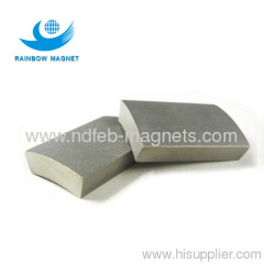 Sintered SmCo arc magnet for motor