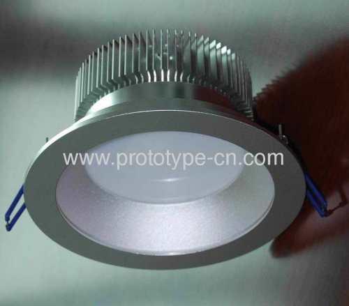 Aluminium LED Ceiling lamp Shell