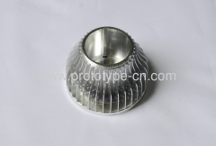 Aluminium LED Shell house case machining