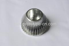 Aluminium LED Shell house case machining