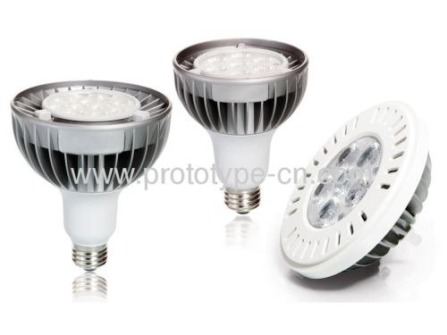LED rapid CNC prototype