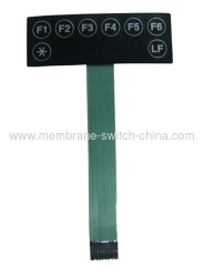 custom design electronic membrane keypad