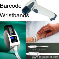 GJ-7000 Medical barcode id wristband