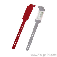 GJ-6060R PVC RFID medical id bracelet