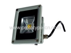 LED landscape lamp case shell house