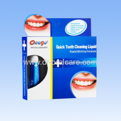 Teeth Whitening Stain Remover Liquid for Smoker