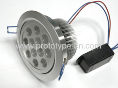 Custom down lamp shell