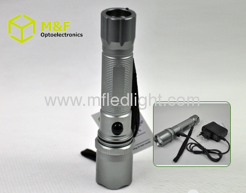 cree led 5w rechargeable flashlight
