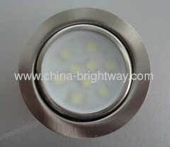 Round SMD3528 3W Led Cabinet Light