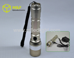 5w cree led zoom torch light rechargeable