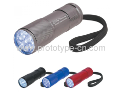 Custom LED flashlight shell