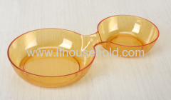 round plate candy plate