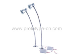LED table lamp custom shell