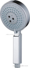 Square Handle Design Hand Held Shower Works In High Pressure
