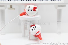 Hello Kitty stereo in-ear earphone for portable media player