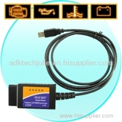 ELM327 USB OBD2 EOBD CAN-BUS Scanner Tool