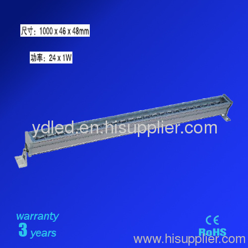 LED Wall washer 24W Wall washer RGB linear LED wall washer