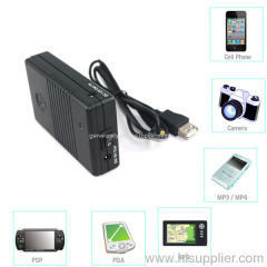5v 12v 3.7v Backup Battery for iphone ipad smart phone