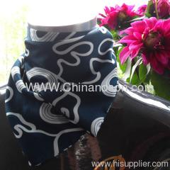 100% satin magic scarf gradual change silk CSNO-01