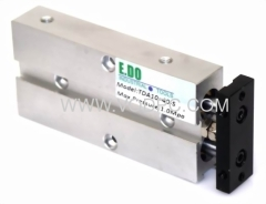 pneumatic double rod cylinder
