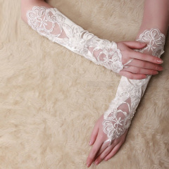 long Bridal Gloves