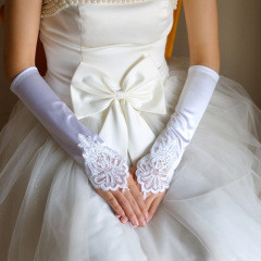 high quality bridal gloves