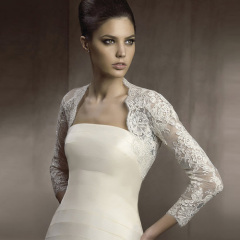net bridal jacket