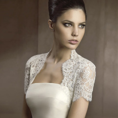 long lace bridal jacket