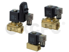 Two-way Pneumatic Control Solenoid Valve