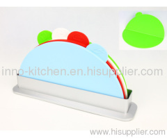 NEW Index Advance Designer cutting Boards 4pcs Sets